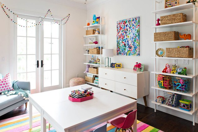 clean organize playroom