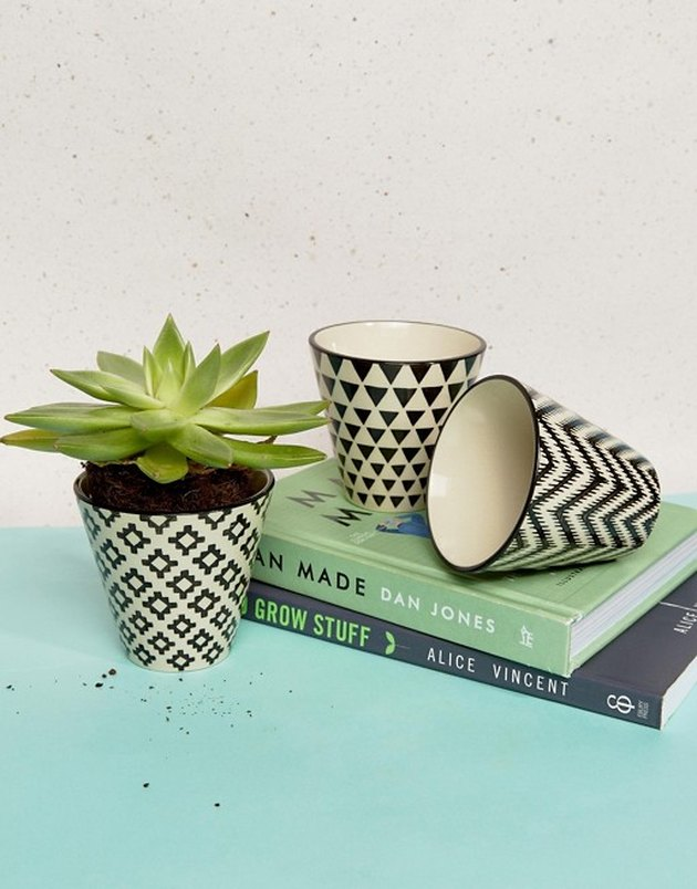 Sass & Belle Pack of 3 Mini Geometric Day Planters