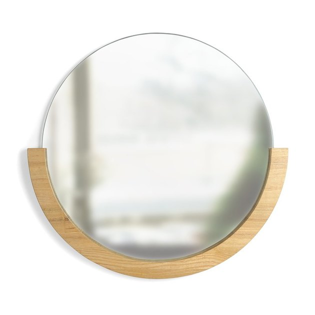 AllModern circular mirror.