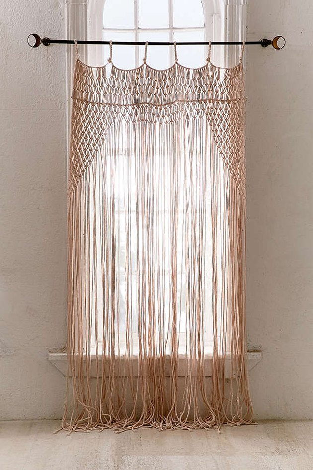 Urban Outfitters Macrame Curtain