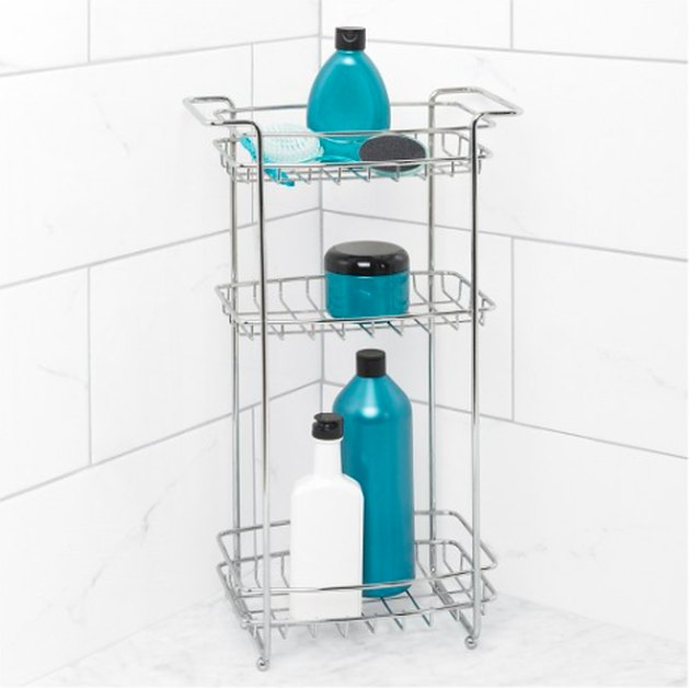 standing shower storage.