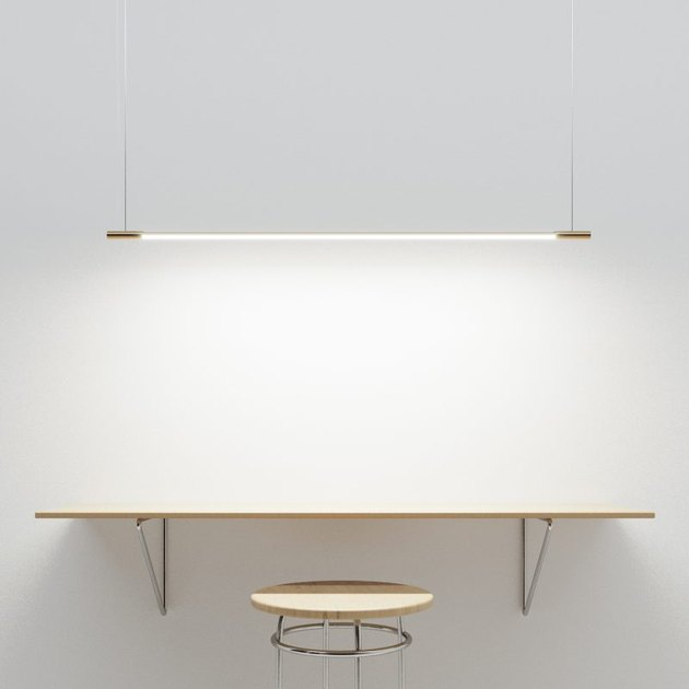 thin suspension light