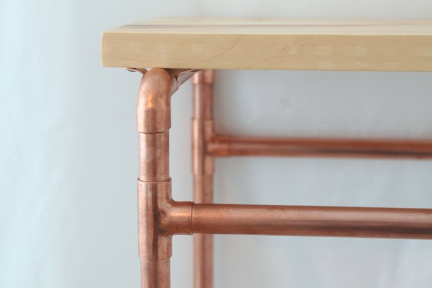 Detail of shelf corner