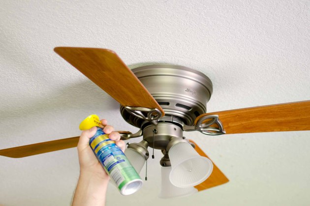 How To Keep Your Ceiling Fans Dust Free Hunker
