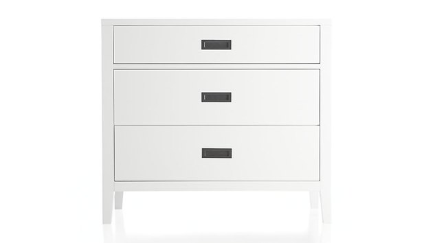 Crate and Barrel Arch Drawer Unit