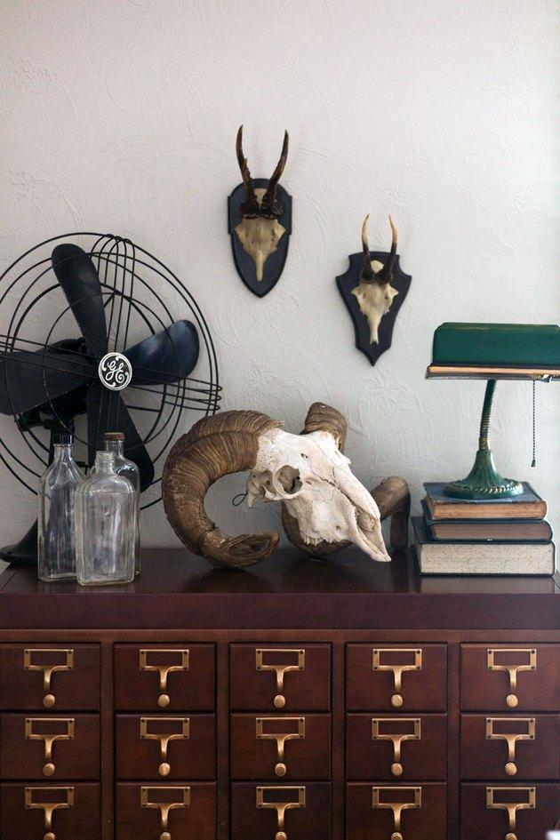 vintage dresser