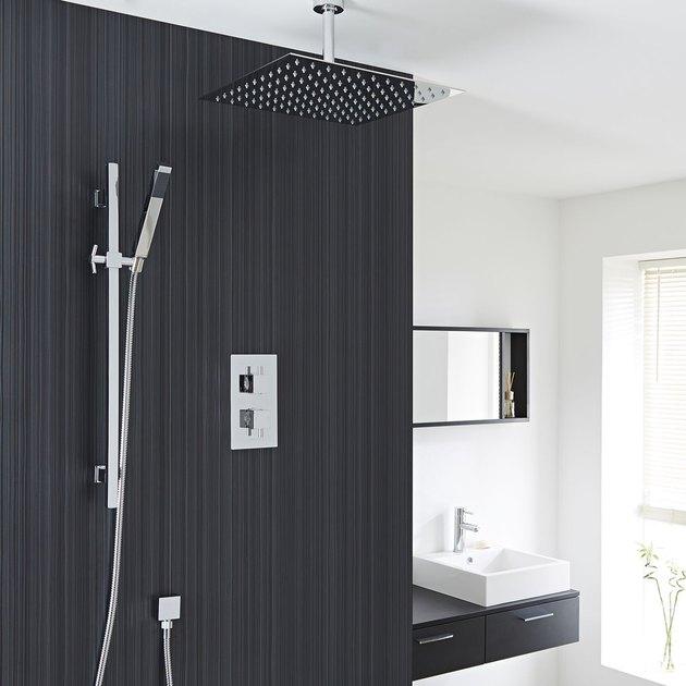 shower remodel ideas hudson reed astbury twin concealed rain shower head