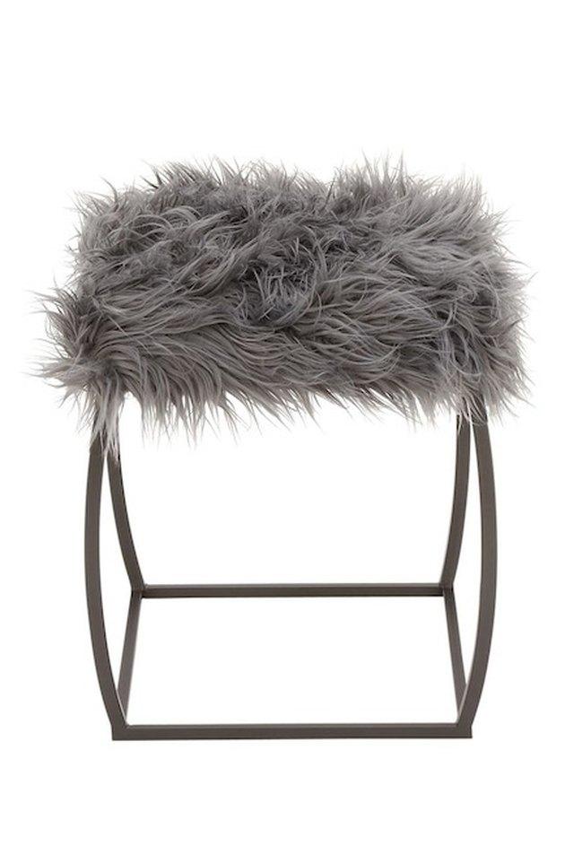 fur stool