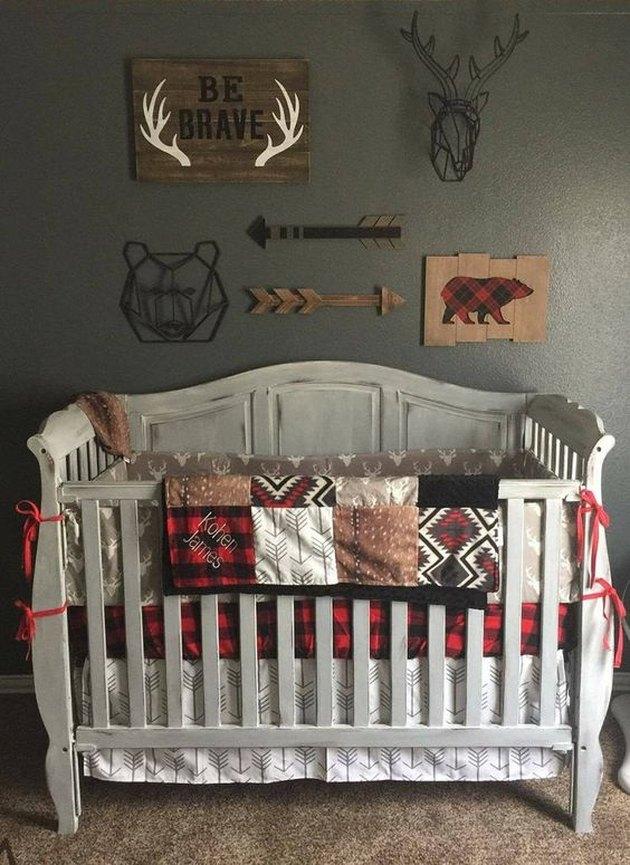 cabin chic nursery