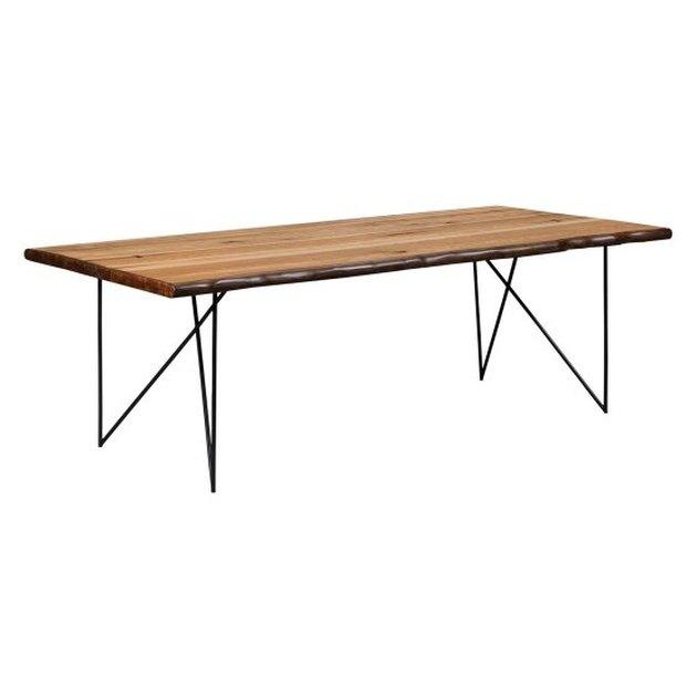 metal leg dining table
