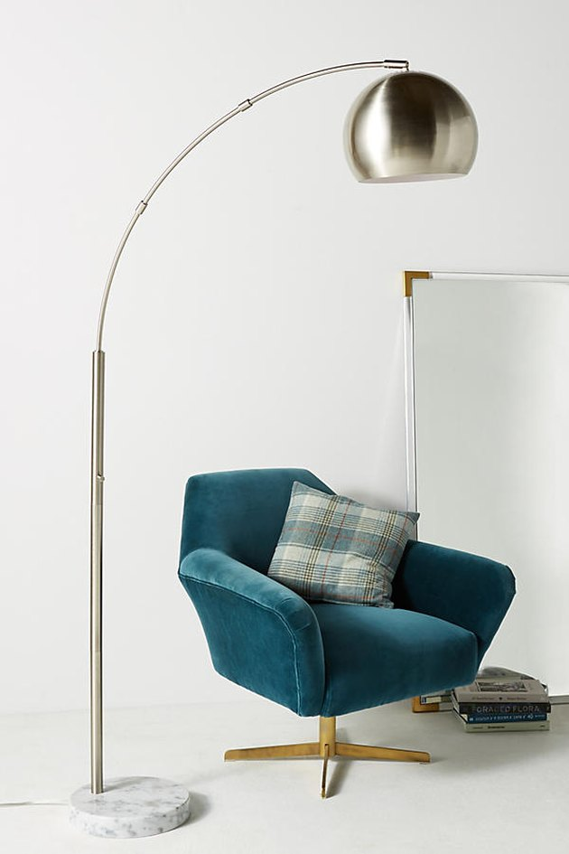 anthropologie arc lamp