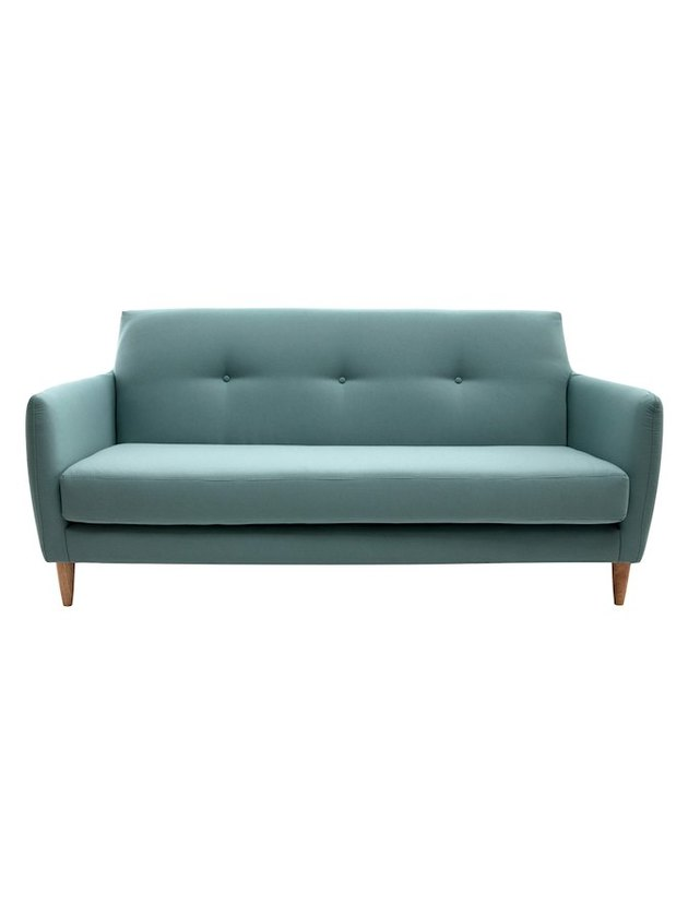 Light mint loveseat