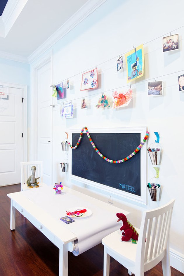 art station playroom