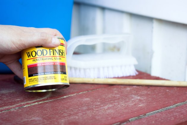 How To Remove Deck Stain From Vinyl Siding Hunker