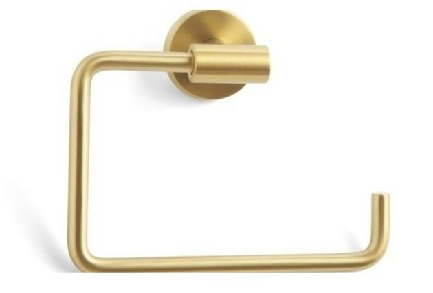 Brushed Bronze Towel Ring