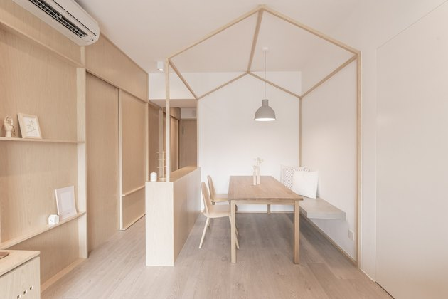Japanese minimalist dining room