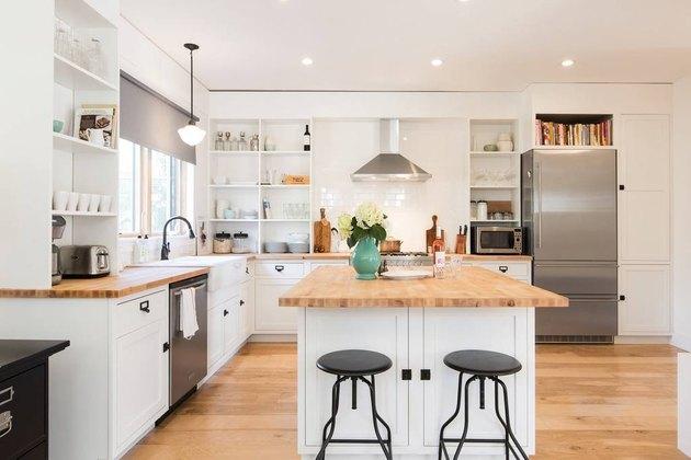 Renovated Bungalow Queen Anne Seattle Modern Design Kitchen