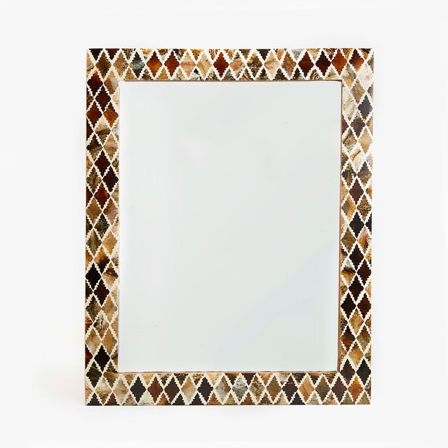 Zara Home rectangular mirror.