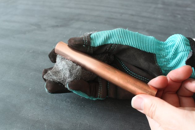Polishing the copper