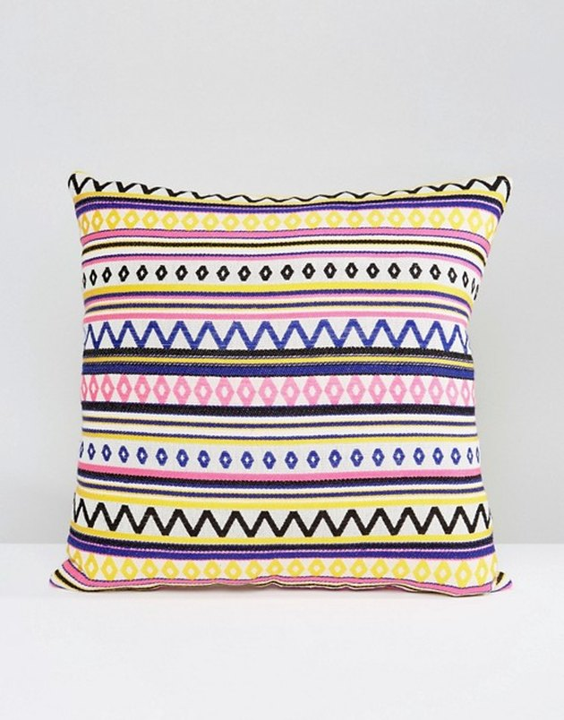 Ashiana Embroidered Printed Cushion Cover