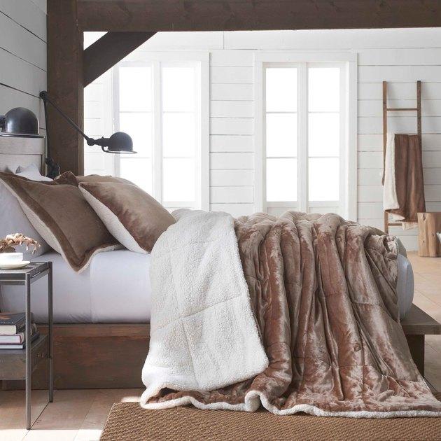 sherpa comforter