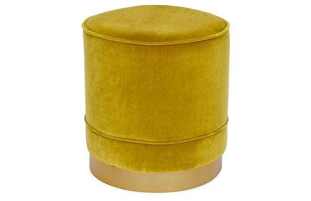 velvet stool