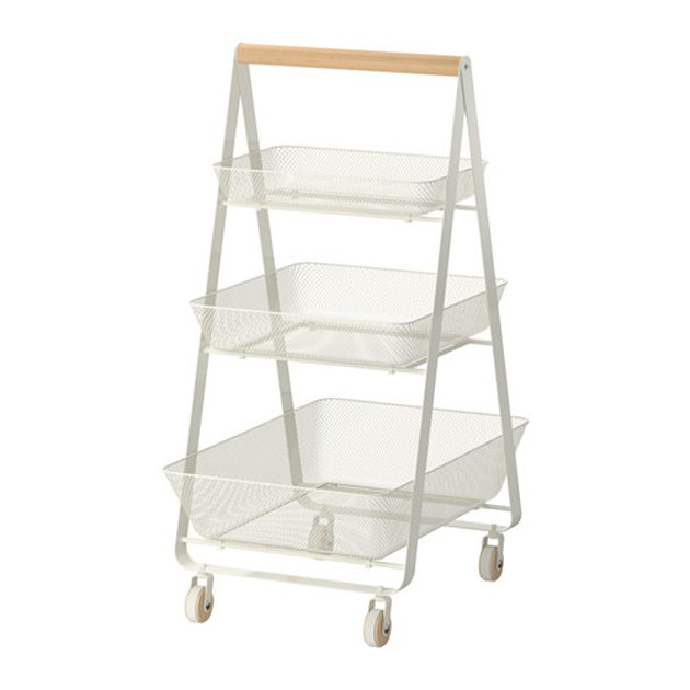 Ikea tiered utility cart.