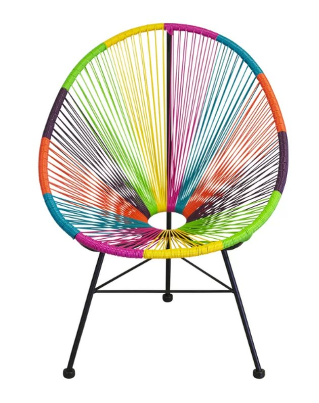 acapulco multi color chair
