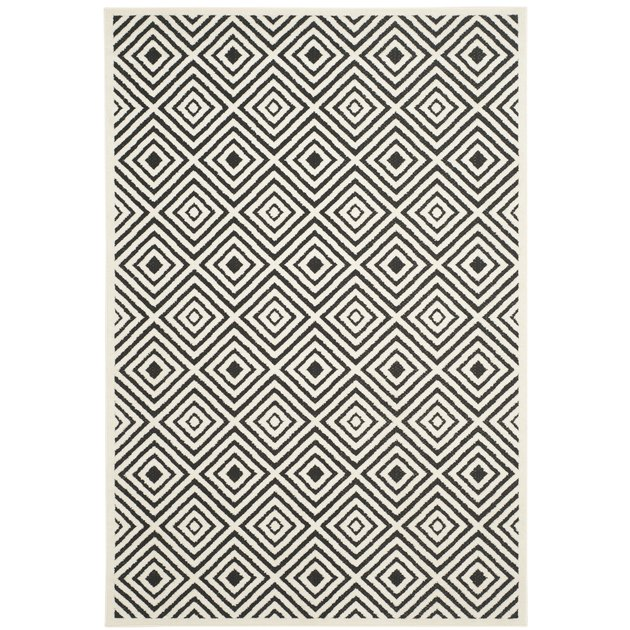 geometric outdoor area rug