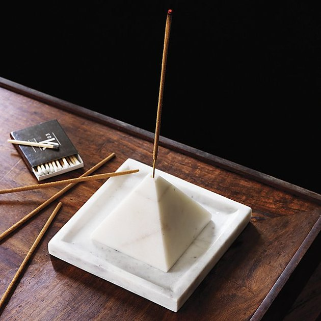 marble incense burner