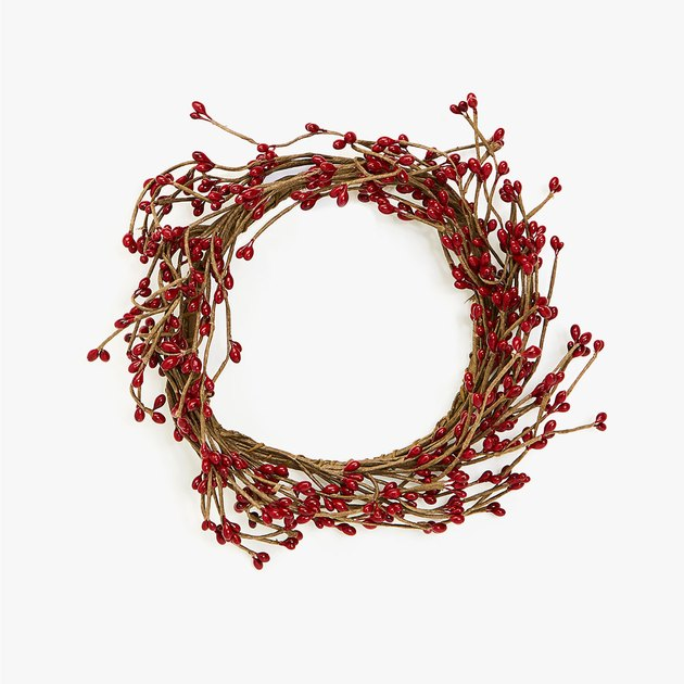 zara home wreath