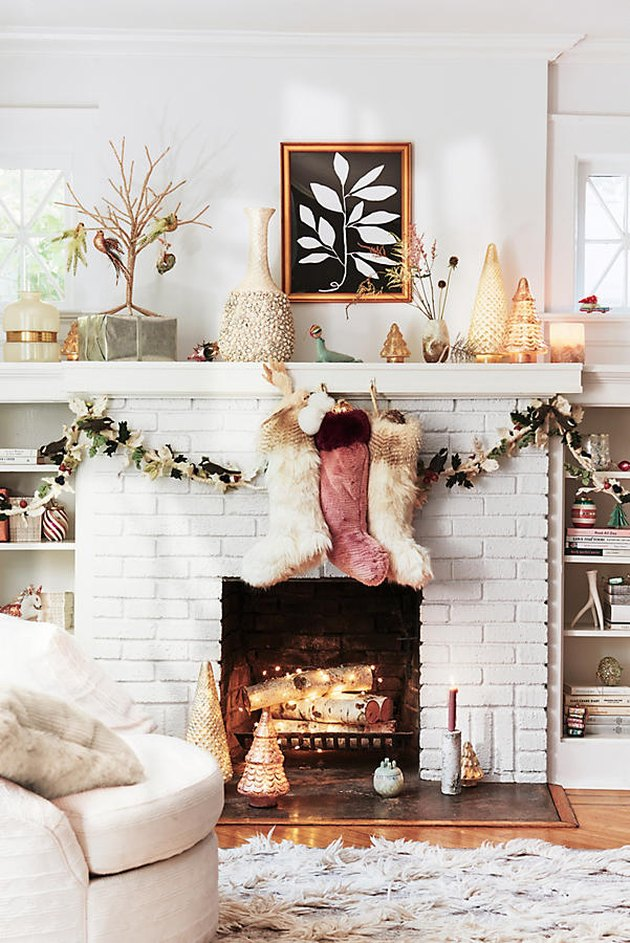 anthropologie holiday living room