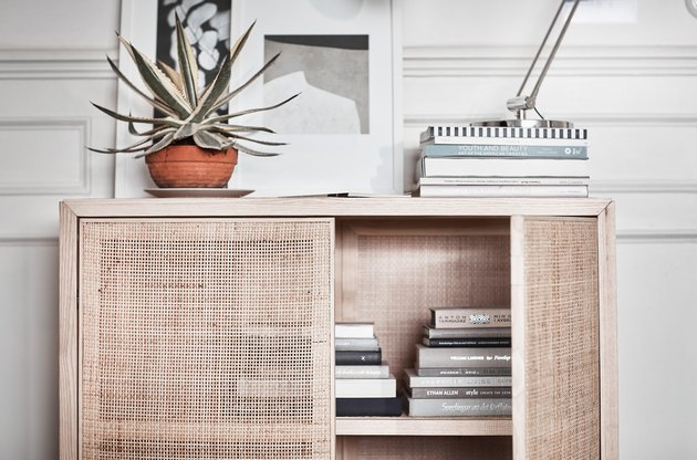 stockholm ikea rattan cabinet