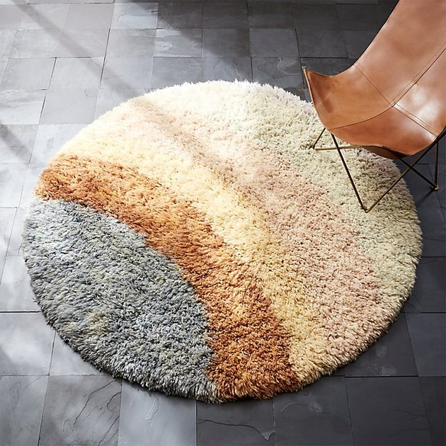 Be Who We Are Natural Shag Rug