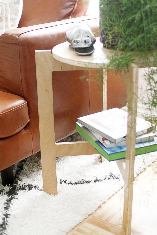 Space-Saving Collapsible Side Table