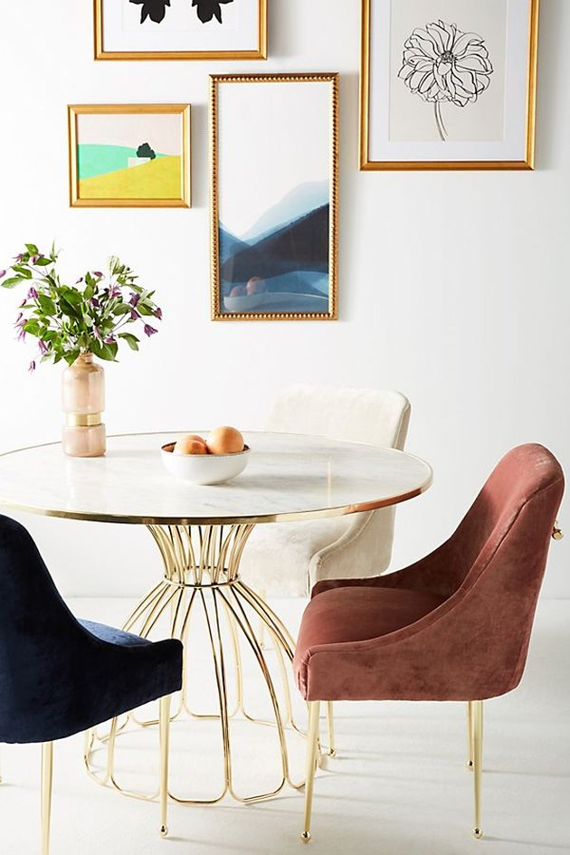 Anthropologie dining table and chairs