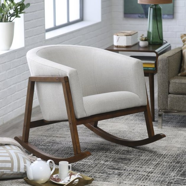 tub shaped rocking chair