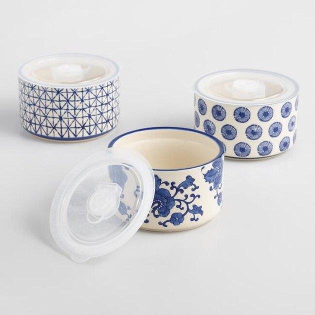 ceramic storage bowls
