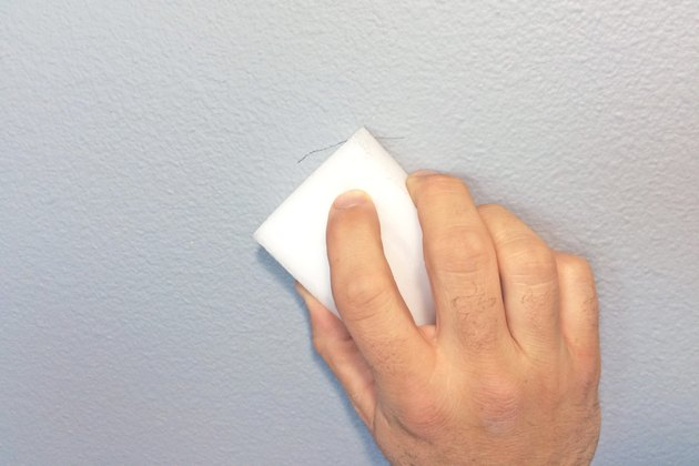 how to clean painted dirty walls