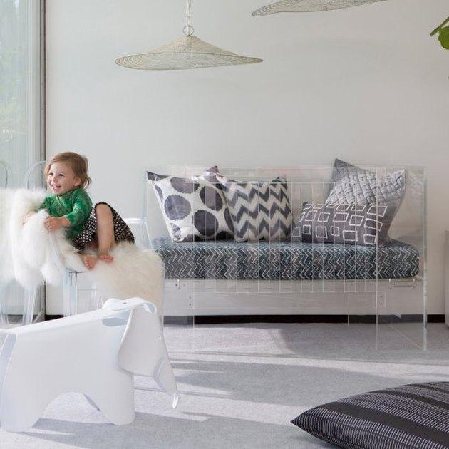 acrylic crib nursery
