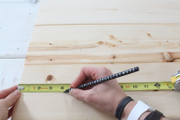 Marking the overhang