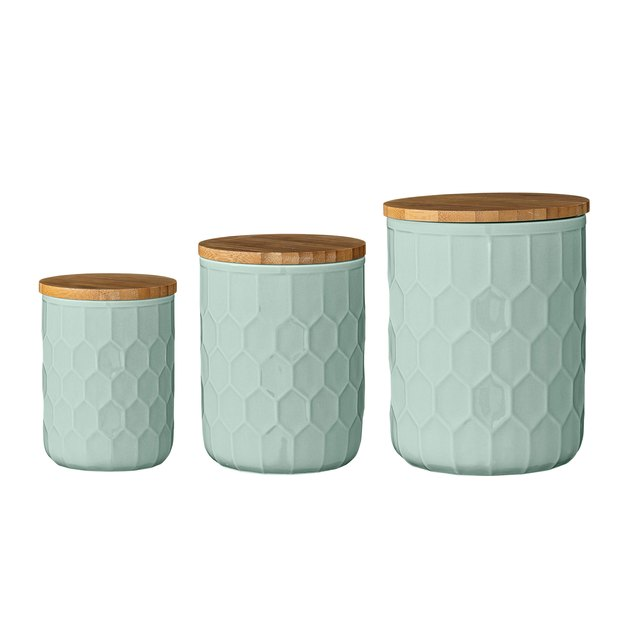 Scandinavian Kitchen Canister Set