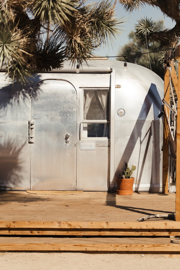 Airstream front door