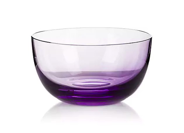 purple bowl