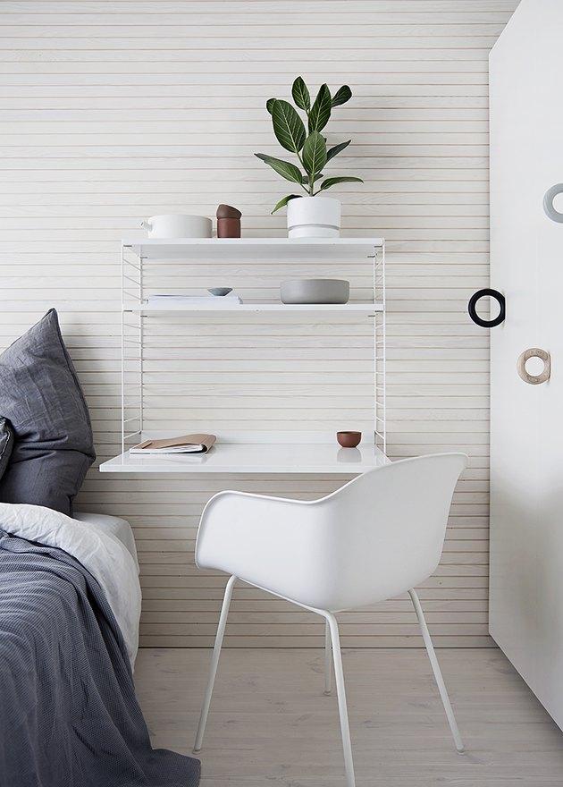 wall mounted desk