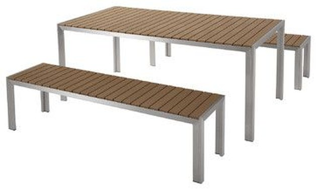 Tristan 3-Piece Outdoor Polywood Dining Set