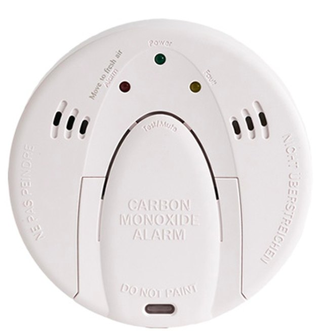 Wireless carbon monoxide detector.
