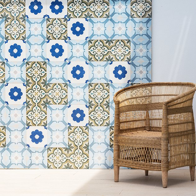 mixed tile