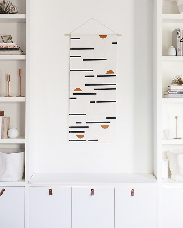 table runner wall hanging