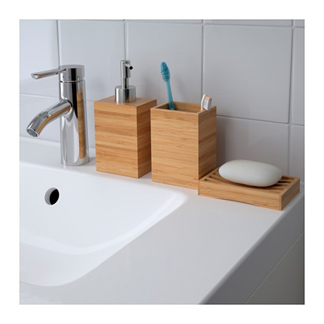 Ikea bamboo bathroom essentials
